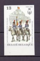 2308 Escorte Te Paard ONGETAND POSTFRIS**  1988 - Belgique