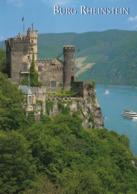 1 AK Germany Rheinland-Pfalz * Die Burg Rheinstein Bei Assmannshausen - Seit 2002 UNESCO Weltkulturerbe * - Germany