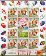 Wallis Et Futuna 2019 - Drapeaux, Coupe Du Monde De Rugby - Feuillet 10 Val Neufs // Mnh - Neufs