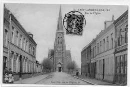 59  Saint ANDRE -LEZ-LILLE           Rue De L'église - Altri Comuni