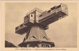 73. AIX LES BAINS. CPA. LE SOLARIUM TOURNANT INVENTE PAR LE DOCTEUR SAIDMAN. - Aix Les Bains