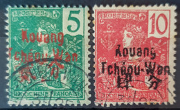 PAKHOI 1906 - Canceled - YT 4, 5 - 5c 10c - Used Stamps