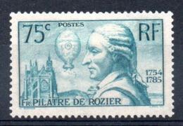 FRANCE - YT N° 313 - Neuf * - MH - Cote: 20,00 € - France