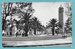 PERU' LIMA PARQUE UNIVERSITARIO CON LA UNIVERSIDAD SAN MARCOS 1958 - Perù