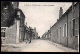 PA  --  DUN SUR AURON  RUE DE L ERMITAGE  CIRCULEE EN 1918  785.E* - Dun-sur-Auron