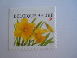 België Belgique 2001 Narcisse Des Bois Trompetnarcis Timbre De Carnet Zegel Uit Boekje 3046 MNH ** - België