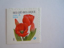 België Belgique 2001 Rode Tulp Tulipe Rouge Timbre De Carnet, Zegel Uit Boekje 3047 MNH ** - Belgien