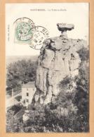 CPA Saint Mihiel, La Table Du Diable, Gel. 1908 - Saint Mihiel