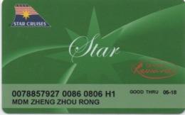 Carte De Casino / Croisière : Genting Rewards / Star Cruises - Casino Cards