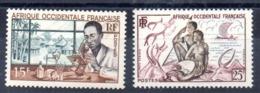 Serie  Nº 48/9 Africa Occidental Francesa - Sellos