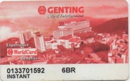 Carte De Casino : Genting City Of Entertainment Malaisie - Cartes De Casino