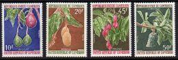 Cameroun  N°  554 / 57 X  Fruits :  Les 4  Valeurs  Trace De Charnière Sinon TB - Camerún (1960-...)