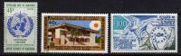 Cameroun  N°  552 / 53 + 558 XX   Les 3  Valeurs  Sans Charnière TB - Kamerun (1960-...)