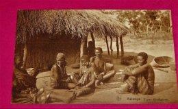 CONGO BELGE -  KATANGA  -  Types D'indigènes - Congo Belge - Autres