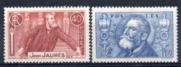 FRANCE - YT N° 318-319 - Neufs * - MH - Cote: 19,00 € - France