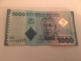 Billet 1000 Shillings Tanzanie - Tanzanie