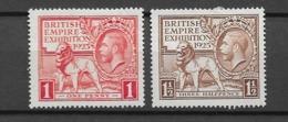 1925 MNG Great Britain - 1902-1951 (Könige)