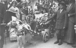 PARIS - 6ème Arrond. - Carte Photo - Souvenir De L'Inauguration Du Boulevard Raspail - Juillet 1913 - Voiture à Chèvre - Arrondissement: 06