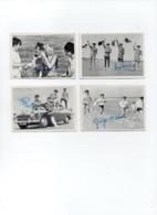 4x Cartes Photo-image Dédicacées THE BEATLES (9x6,5 Cm) - Reproductions