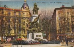 CPA - Nice Statue De Gambetta - Monuments, édifices