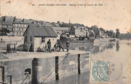 SAINT VALERY EN CAUX - Bassin à Flot Et Cours De L'Est - Saint Valery En Caux