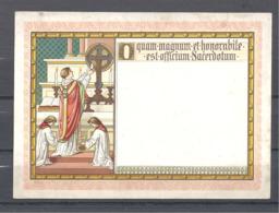 Image Pieuse  Elévation à La Célébration De La Messe Grand Format - Santini