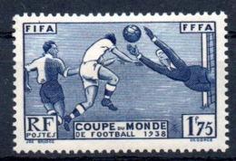 FRANCE - YT N° 396 - Neuf * - MH - Cote: 15,00 € - France