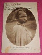 RUANDA - URUNDI  -  Jeune Fille Muhutu De L'Urundi - Ruanda-Urundi