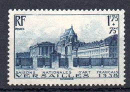 FRANCE - YT N° 379 - Neuf * - MH - Cote: 23,00 € - France