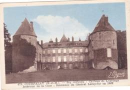 CPA 77 @ COURPALAY - Château De Lagrange - Intérieur De La Cour - Résidence Du Général Lafayette En 1802 - France