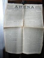 (G14) QUOTIDIANO POLITICO DELLA PROVINCIA DI VERONA ARENA DOMENICA 17 MARZO 1929 ANNO LXV N° 68 - Riviste & Giornali