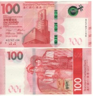 HONG KONG  New $ 100.  Newly Issued. Date S 1.1.2018.  Pnew. Standard Chartered - Hong Kong