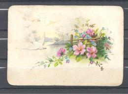 Image Colombe Blanche Et Bouquet - Vieux Papiers