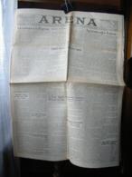 (G15) QUOTIDIANO POLITICO DELLA PROVINCIA DI VERONA ARENA DOMENICA 25 DICEMBRE1925  ANNO LXV N° 302 - Riviste & Giornali