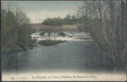 CPA Le Houyoux Au Vieux Château De Barse - Lez - Huy En Couleur - Modave