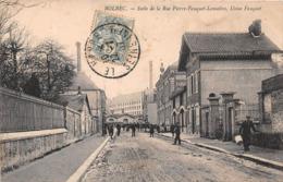 BOLBEC -  Suite De La Rue Pierre Fauquet Lemaitre - Usine Fauquet (carte Pas Courante) - Bolbec