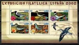 Cuba 2002 / Birds MNH Vögel Aves Oiseaux  / Cu11113  18-35 - Pájaros