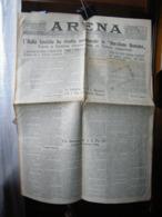 (G16) QUOTIDIANO POLITICO DELLA PROVINCIA DI VERONA ARENA DOMENICA 12 FEBBRAIO 1929  ANNO LXV N° 39 - Riviste & Giornali
