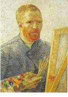 Vincent Van Gogh - Autoportrait - Peintures & Tableaux