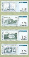 FEROE Distributeurs 2014 Timbres/Timbres 4v  Neuf ** MNH - Féroé (Iles)