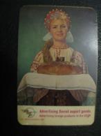 USSR Soviet Russia  Pocket Calendar Vneshtorgreklama 1970 Rare - Calendriers