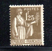 France / N 287 / 1F 25 Olive / NEUF Avec Trace De Charnière ( Voir Scan ) - Frankreich