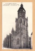 CPA Le Croisic, Tour De L'Eglise Notre Dame De Petite, Ungel. - Le Croisic