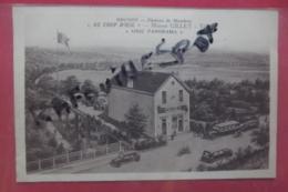 """Cp Brunoy Plateau De Mandres  Au """" Coup D'oeil"""" Maison Gillet - Brunoy"""