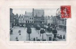 80 - Somme -  PERONNE -  Place Du Marché Aux Herbes - Peronne