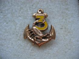 Brodche Insigne Militaire à Définir - Navy
