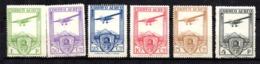 Espagne Poste Aérienne YT N° 50/55 Neufs *. B/TB. A Saisir! - Airmail