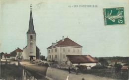 -dpt Div-ref-AM963- Doubs - Les Fontenelles - Carte Colorisée - - Andere Gemeenten