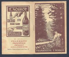 FABRICATION DES LIQUEURS SIROPS QUININAS PUBLICITE FRAMBOISINE NOIROT NANCY Vendu Pharmacie Principale Coulommiers - Autres Collections