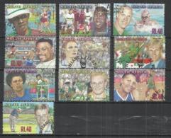 SOUTH AFRICA 2001 - FAMOUS ATHLETES - CPL.SET - OBLITERE USED GESTEMPELT USADO - África Del Sur (1961-...)